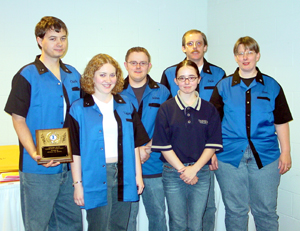 Kaskaskia College's 1st place College Bowl team