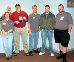 Rend Lake College's 3rd-place College Bowl team