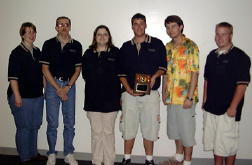 Kaskaskia College's 2nd place College Bowl team